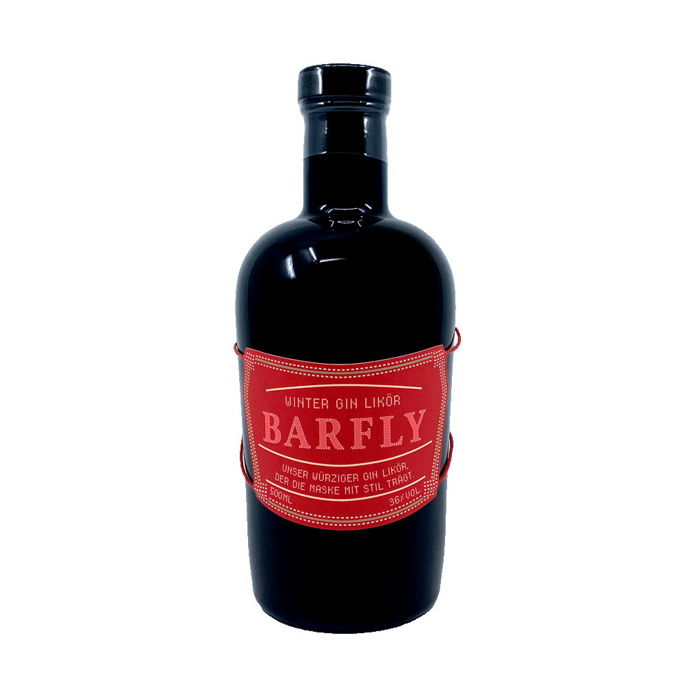 Barfly winter gin liqueur